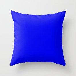Royal Blue Throw Pillow