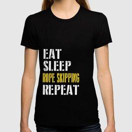 Eat. Sleep. Rope Skipping. Repeat. T-shirt