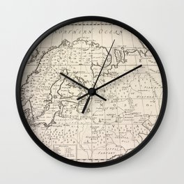 A new map of Denmark, Norway, Sweden, & Moscovy, shewing their present general divisions, cheif cities or towns, rivers, mountains &c.Additional Denma Wall Clock