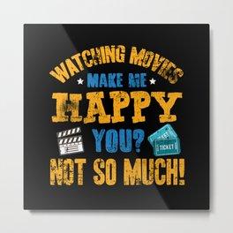 Movies Cinema Metal Print