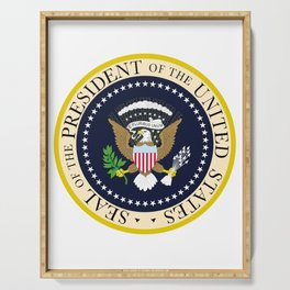 US Presidential Seal Serving Tray