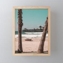 Oceanside Beach, California Framed Mini Art Print