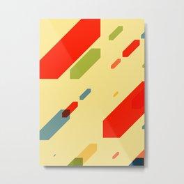 Cubes Cube N.1 Metal Print