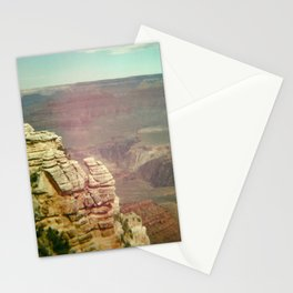 Tiny Man at the Grand Canyon Stationery Cards