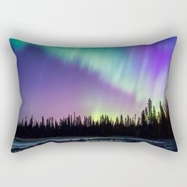 Aurora Borealis 6 Rectangular Pillow