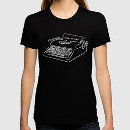 MSD Typewriter T-shirt