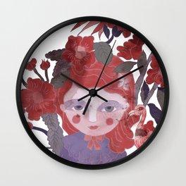 The flamingo inspire me... Wall Clock