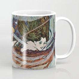 """""""The Little Mermaid"""" by Edmund Dulac Coffee Mug"""