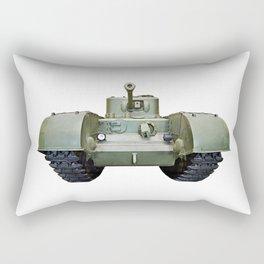 British heavy infantry tank Churchill Rectangular Pillow