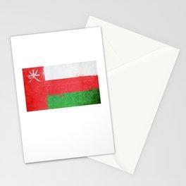 Oman Flag design | Omani design Stationery Cards