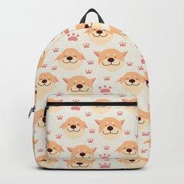 Cute Shiba Inu Dog Pattern Backpack