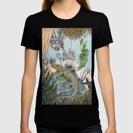 Crocodile in the Tub T-shirt