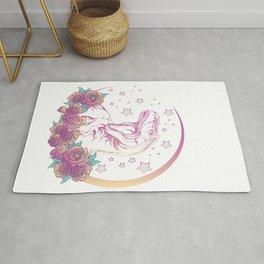 Pastel Goth Trex Design. Aesthetic Vaporwave Dinosaur Gift graphic Rug