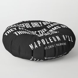 58 | Napoleon Hill Quote Series  | 190614 Floor Pillow