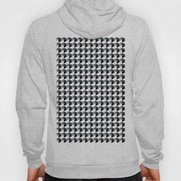 Night Watch Pewter Green Hexagon, Cube Pattern Optical Illusion Hoody