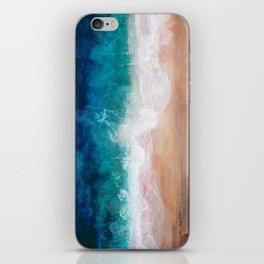 Watercolour Summer Beach IV iPhone Skin