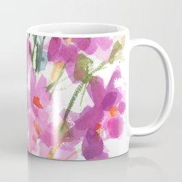 Pink Cosmos Bouquet Coffee Mug