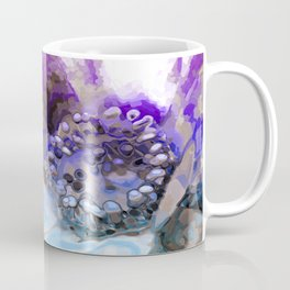 In Sunlight, Lilac and Blue Coffee Mug