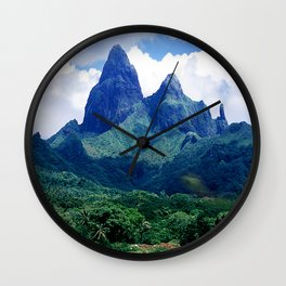The Land That Time Forgot: Marquesas Tropical Islands Wall Clock