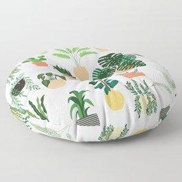 Houseplants 1 Floor Pillow