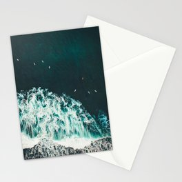 WAVES - OCEAN - SEA - WATER - COAST - PHOTOGRAPHY Stationery Cards