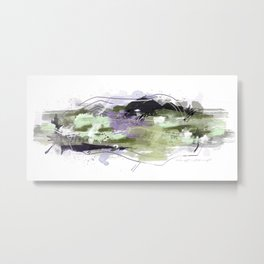 Abstract Five Metal Print