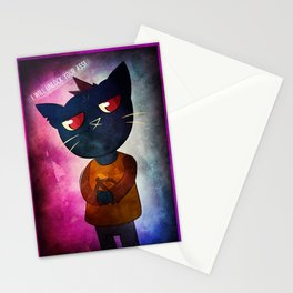 Ready for a fight! Stationery Cards