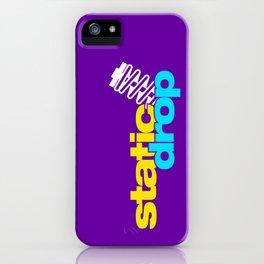 Static drop v3 HQvector iPhone Case