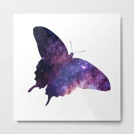 Butterfly in night Metal Print