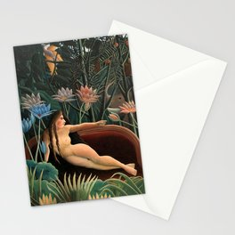 Henri Rousseau The Dream Stationery Cards