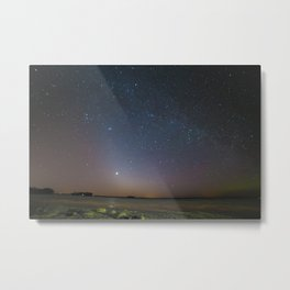 Frozen Lake Metal Print