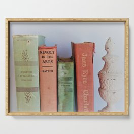 Wuthering Heights and Jane Eyre Serving Tray