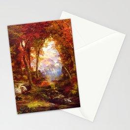 Thomas Moran - Under the Trees Stationery Cards