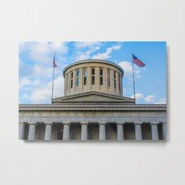 The Ohio Statehouse Metal Print
