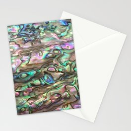 Natural Paua Abalone Stationery Cards