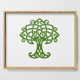 Tree Of Life Celtic Art Knot Serving Tray