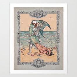 Sailor and Merman Kunstdrucke