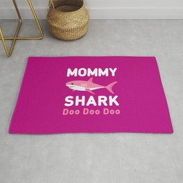 Mommy Shark Rug