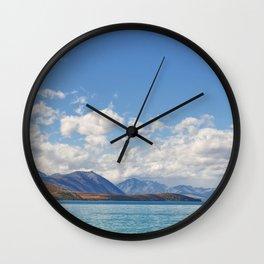 Lake Tekapo 2 Wall Clock