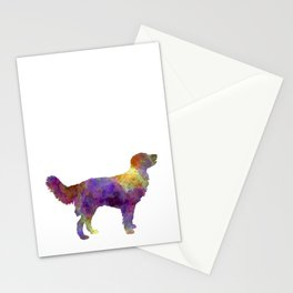 Drentsche Partridge Dog in watercolor Stationery Cards