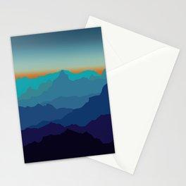 Blue Mountain Range Stationery Cards