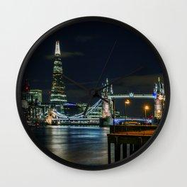 The Shard & Tower Bridge Wall Clock