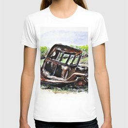 Wrecked And Rusting T-shirt