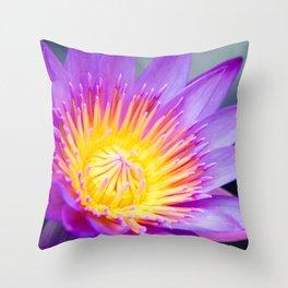 The World is a Garden Throw Pillow