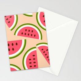Watermelon pattern Stationery Cards