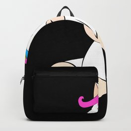 Unicorn Cute Cute Horse Shirt Design Backpack