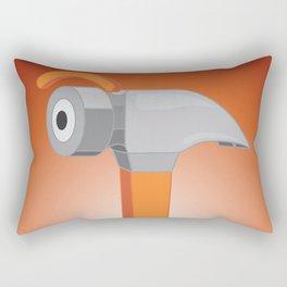 hammer eye Rectangular Pillow