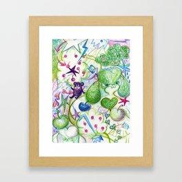 Recycling Love Framed Art Print