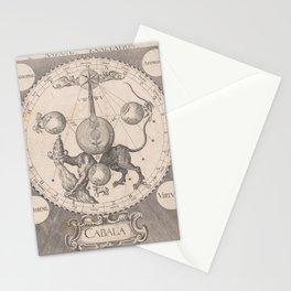 Begin der verheffing, Raphael Custos, 1615 Stationery Cards