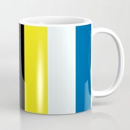 Ellsworth Kelly Red Yellow Blue White and Black Coffee Mug